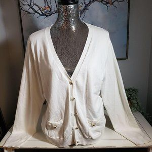 Grace Elements cream cardigan XL